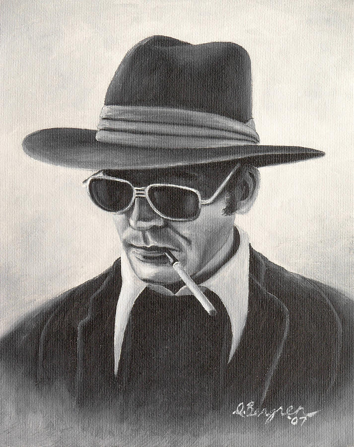 Hst Painting - Hunter by Daniel Bergren