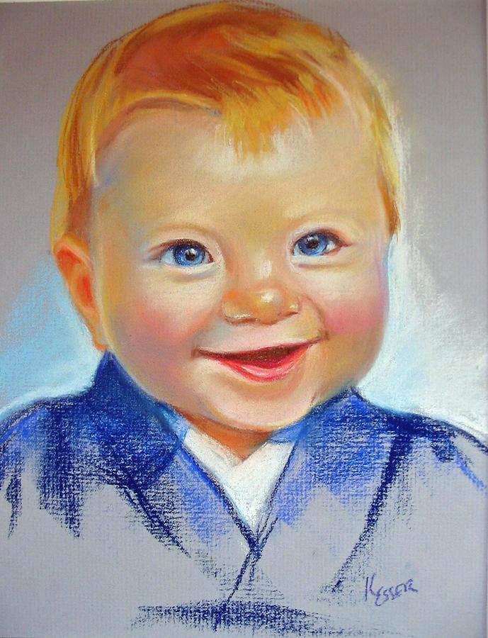 Baby Painting - Hunter by Kaytee Esser