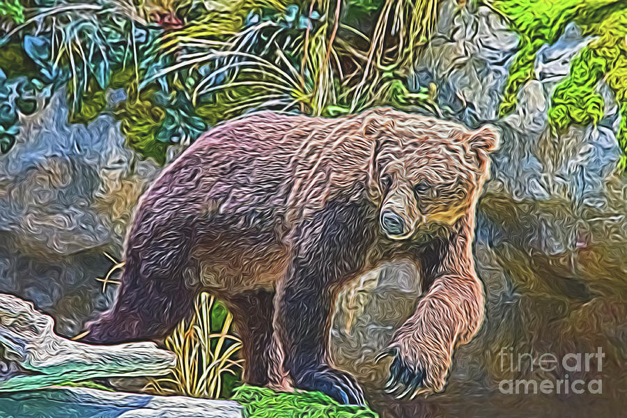 Hunting Bear by Ray Shiu