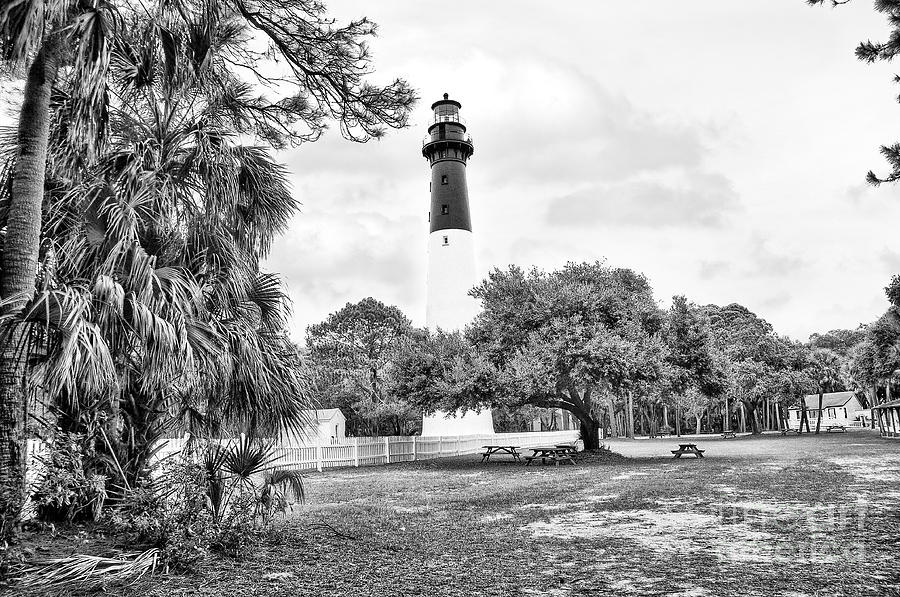 Lighthouse Photograph - Hunting Island Lighthouse by Scott Hansen