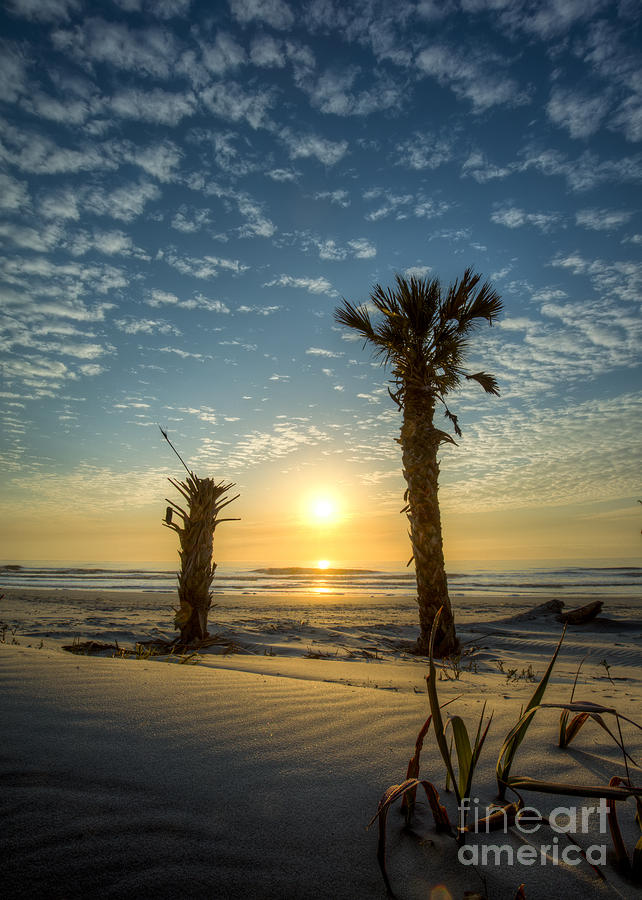 Hunting Island State Park Beach Sunrise Photograph