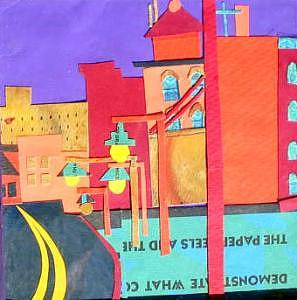Huntington Avenue Mixed Media - Huntington Avenue by Debra Bretton Robinson