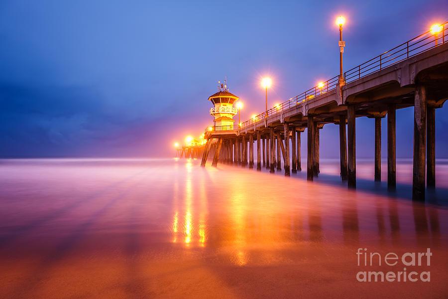 Huntington Beach Pier at Sunrise by Paul Velgos