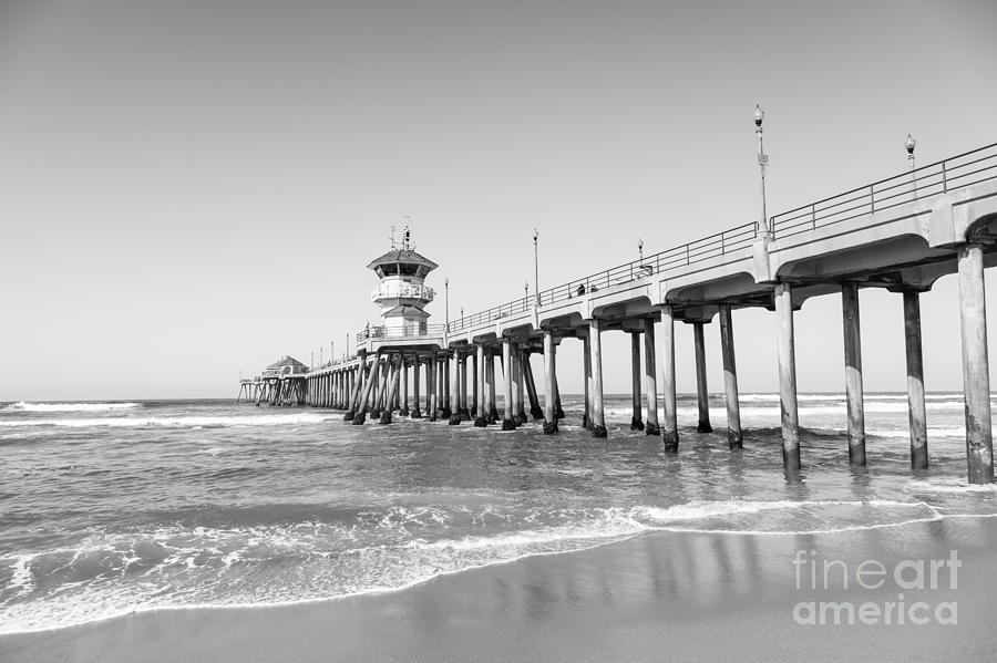 Huntington Pier In Huntington Beach Ca Photograph
