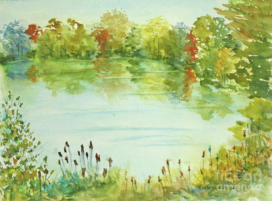 Huron River Landscape by Kathryn Duncan