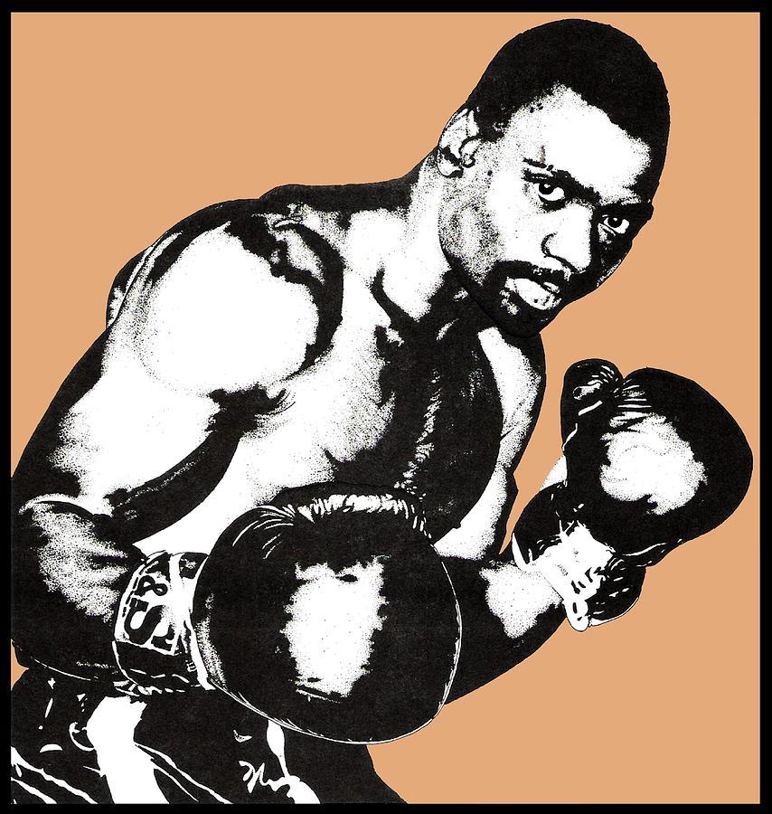 Boxer Drawing - Hurricane Carter by Gabe Art Inc