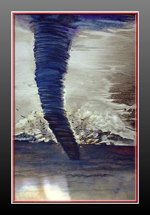 Hurricannnnn Painting by Announi Abdelali
