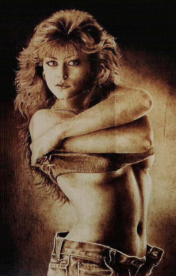 Realistic Pyrography - Hurry by Dino Muradian