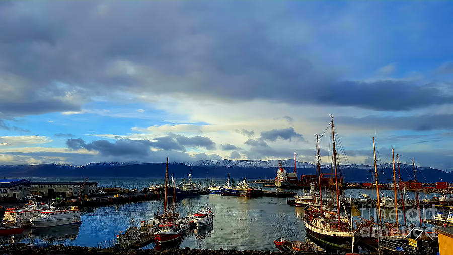 Huskavik Iceland Photograph