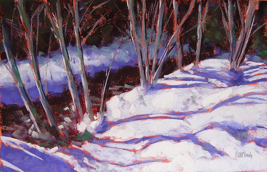 Pastel Painting - Hyak Stream by Mary McInnis