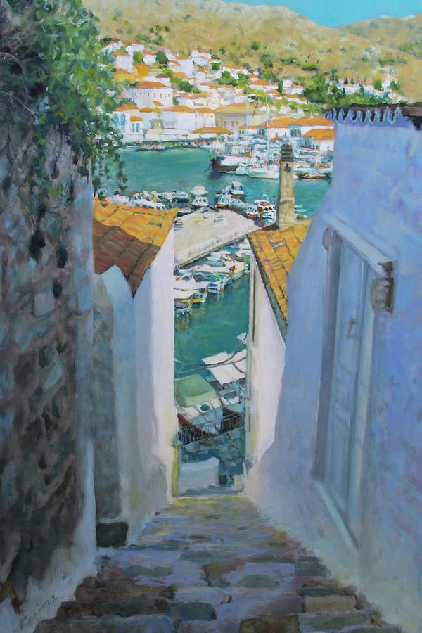Hydra, Greece No. 1 by Kerima Swain