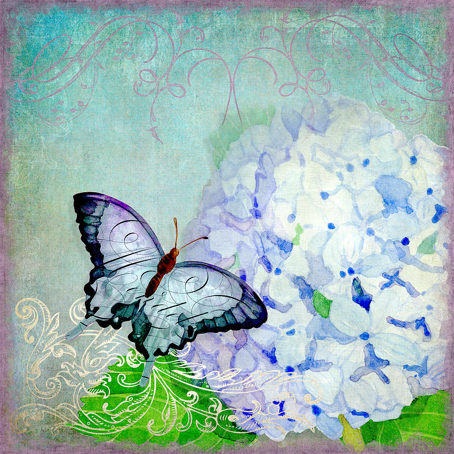 Hydrangea Dreams Painting By Audrey Jeanne Roberts