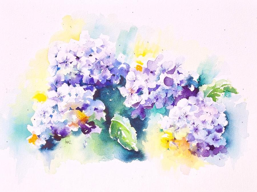 Hydrangeas by Lael Rutherford