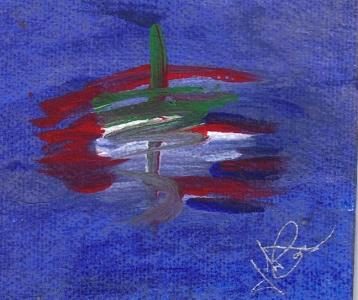 Colors Painting - Hydrilinear by Johnna Crider