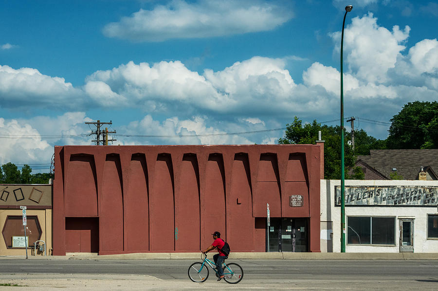 Architecture Photograph - Hyland Theatre by Bryan Scott