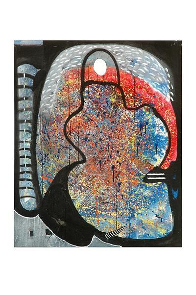 Hymn To Eternity Painting by Victor Vijay Kumar