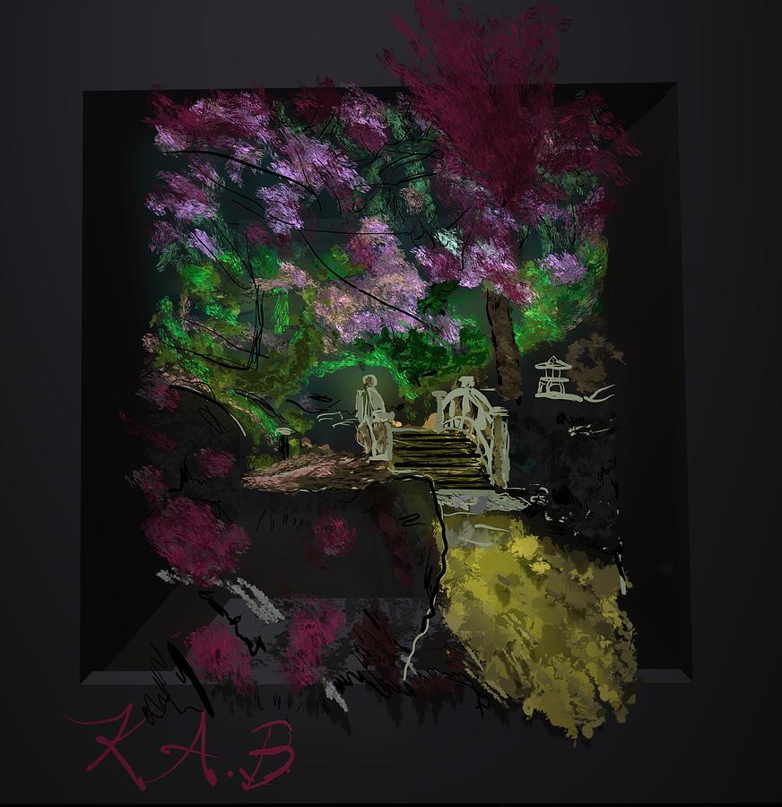 Bridge Digital Art - Hysteria by Kab