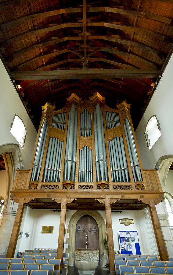 Hythe pipe organ by Jenny Setchell