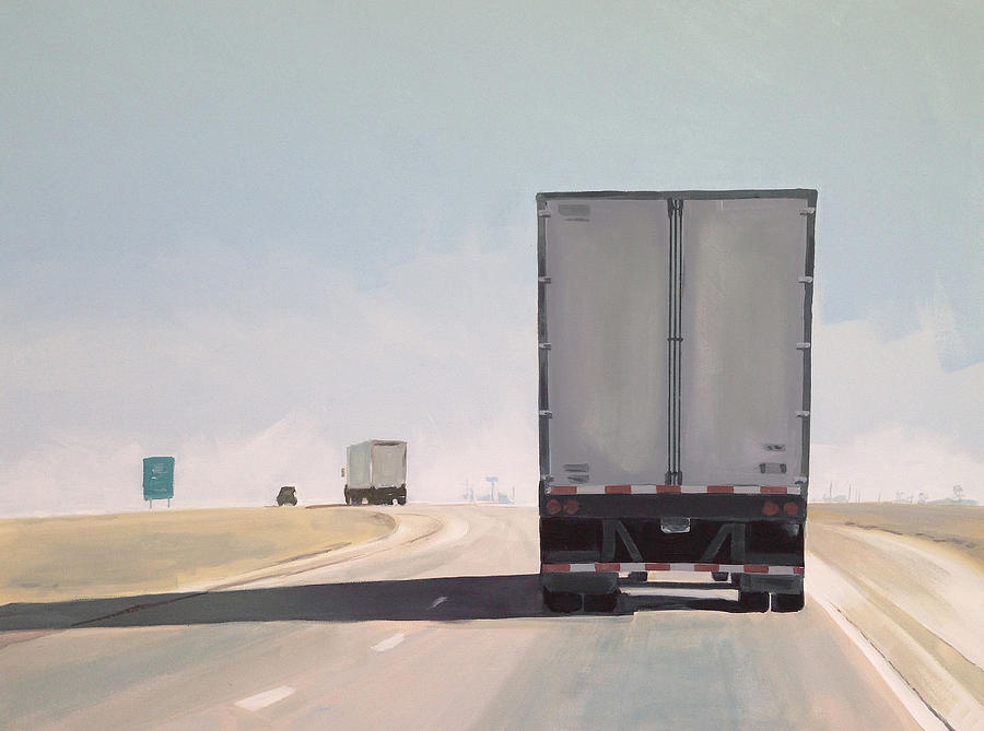 Highway Painting - I-55 North 9am by Jeffrey Bess