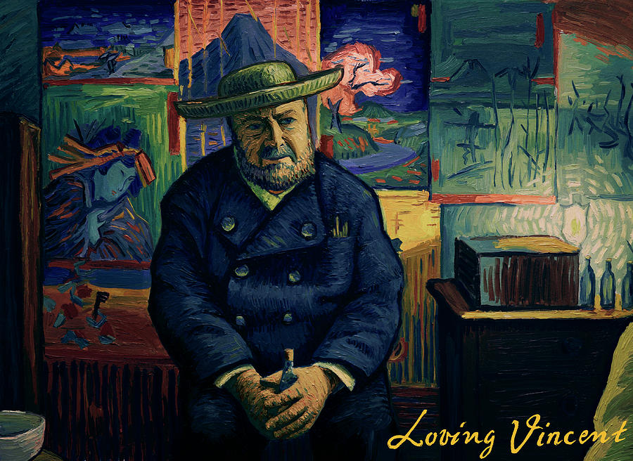 I am afraid you will never deliver that letter to Theo van Gogh Painting by Jakub Podlodowski