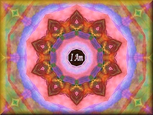 I Am Digital Art - I Am by Ananda McIntosh