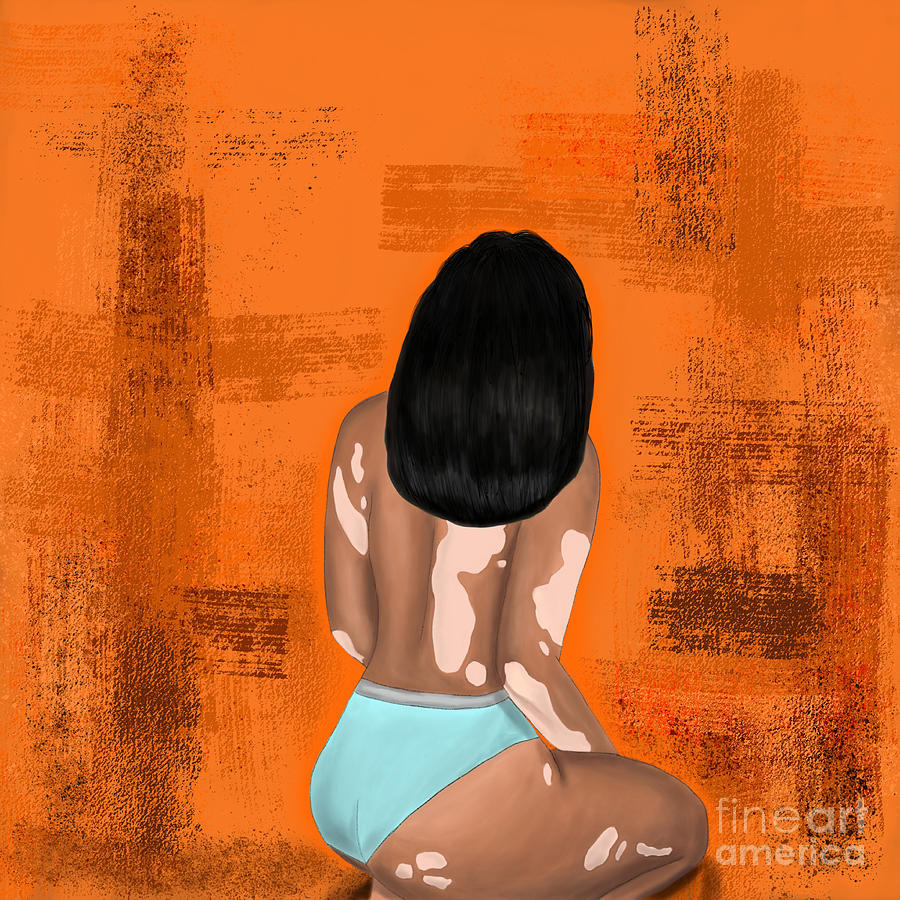 Self-love Digital Art - I Am Enough by Bria Elyce