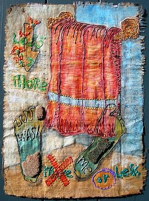 Washing Drawing - I Am In All by Donna Zoll