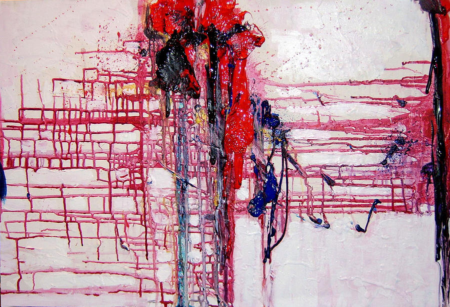 Abstract Painting - I Am Its Host by Maurice Becnel