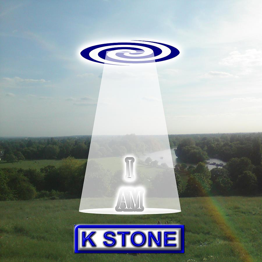 I Am Digital Art - I Am by K STONE UK Music Producer