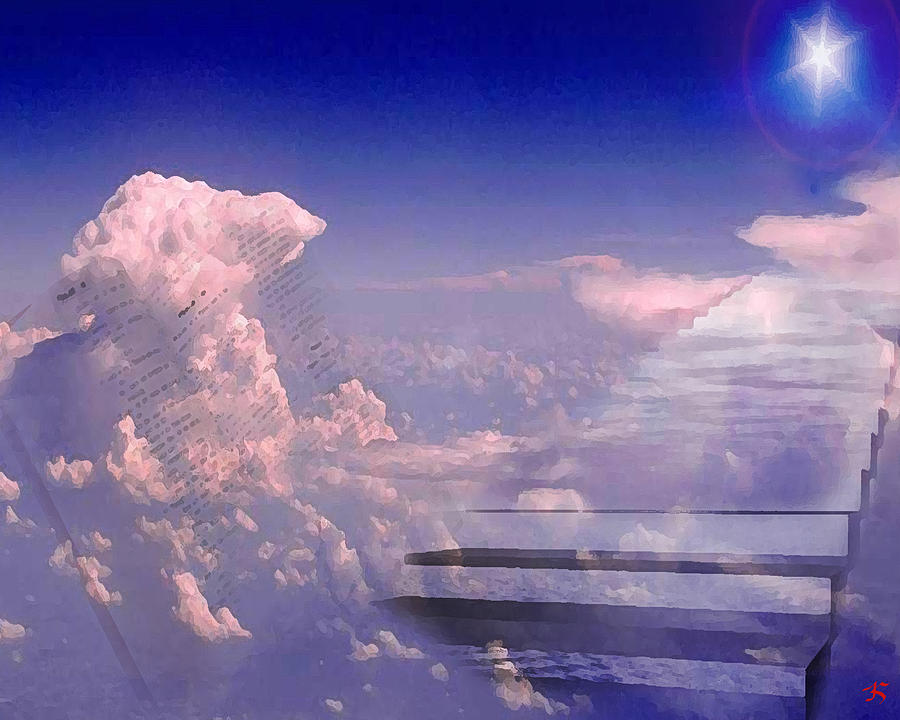 Heaven Digital Art - I Am by Ken Walker