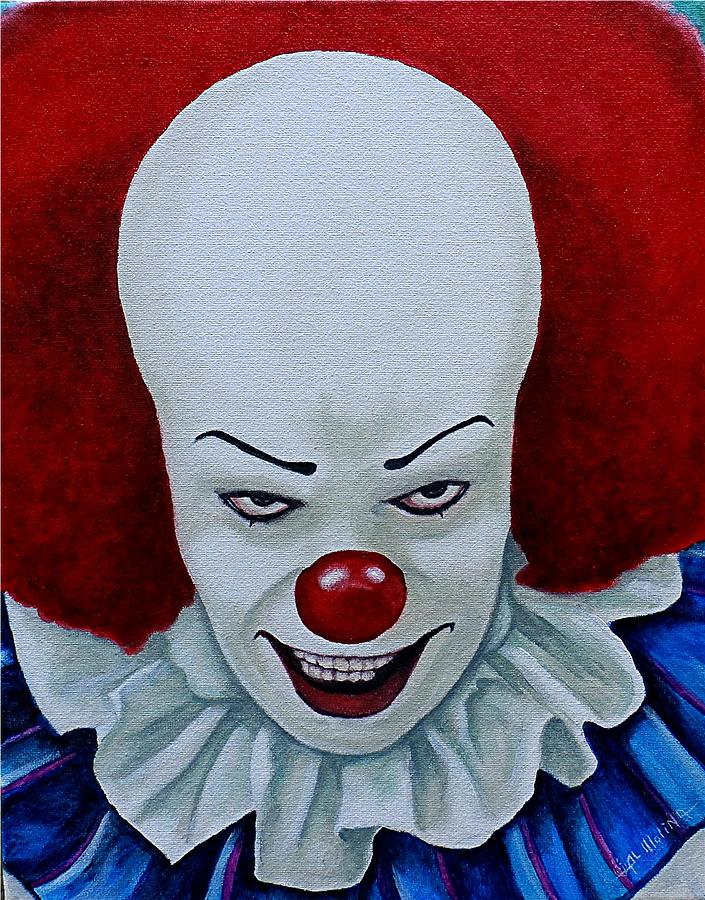 I Am Pennywise Painting By Al Molina