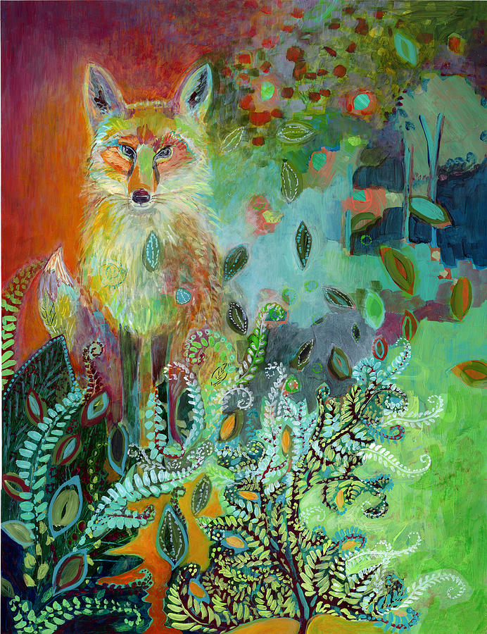 I Am The Forest Path Painting