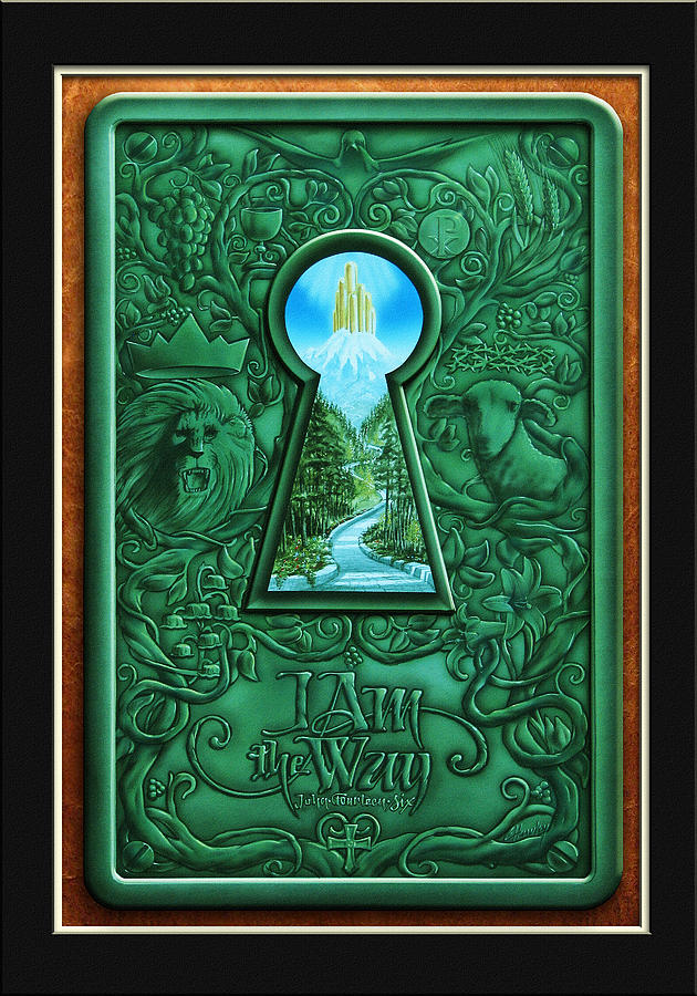 Inspirations Painting - I Am The Way by Cliff Hawley