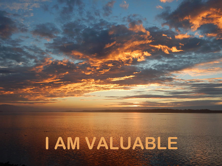 I Am Valuable Two by Gallery Of Hope