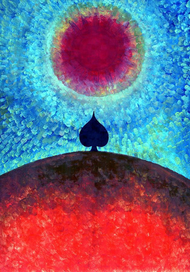Colour Painting - I Am by Wojtek Kowalski