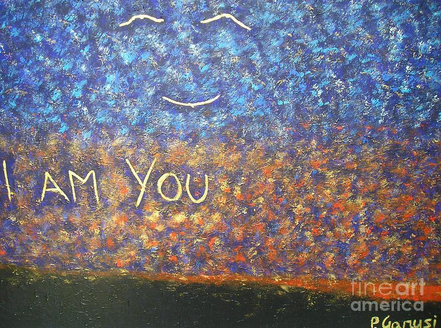 Spiritual Painting - I Am You by Piercarla Garusi