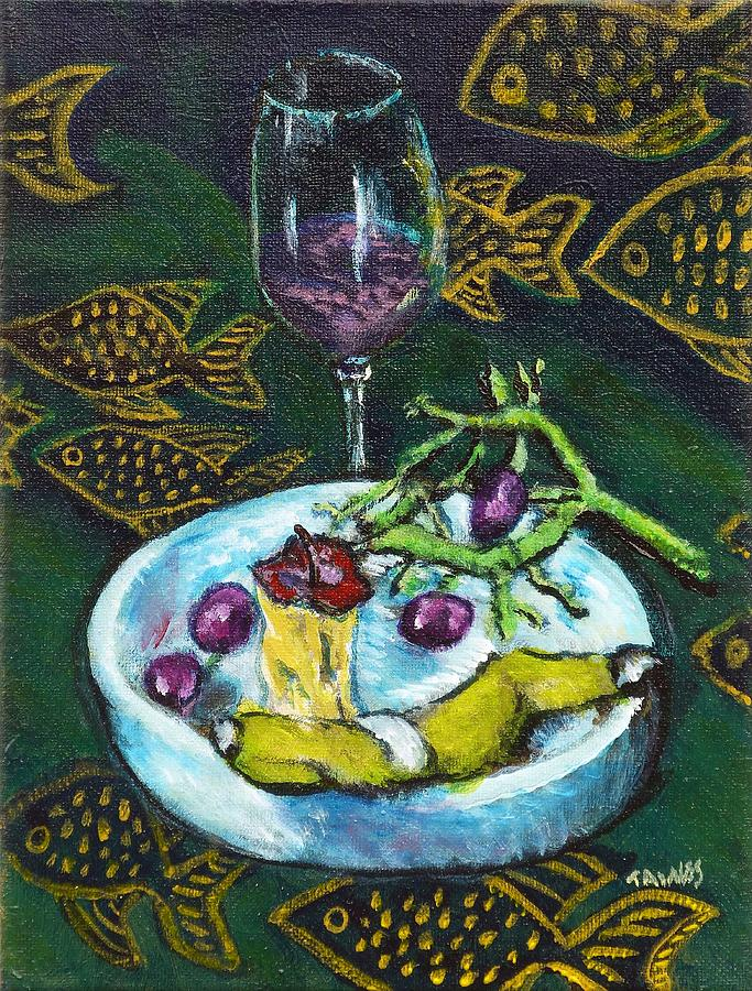I Ate My Still Life by Dennis Tawes