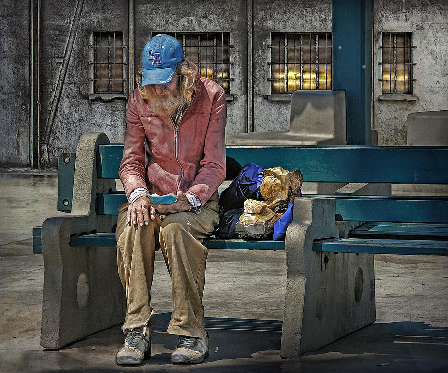 Homeless Digital Art - I Brought This Pain Upon Myself But I Am Not The Cause by Bob Kramer