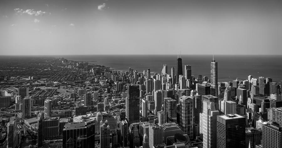 Cityscape Photograph - I Can See For Miles And Miles by Howard Salmon