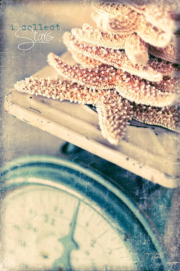 Starfish Photograph - I Collect Stars by Joy Gerow