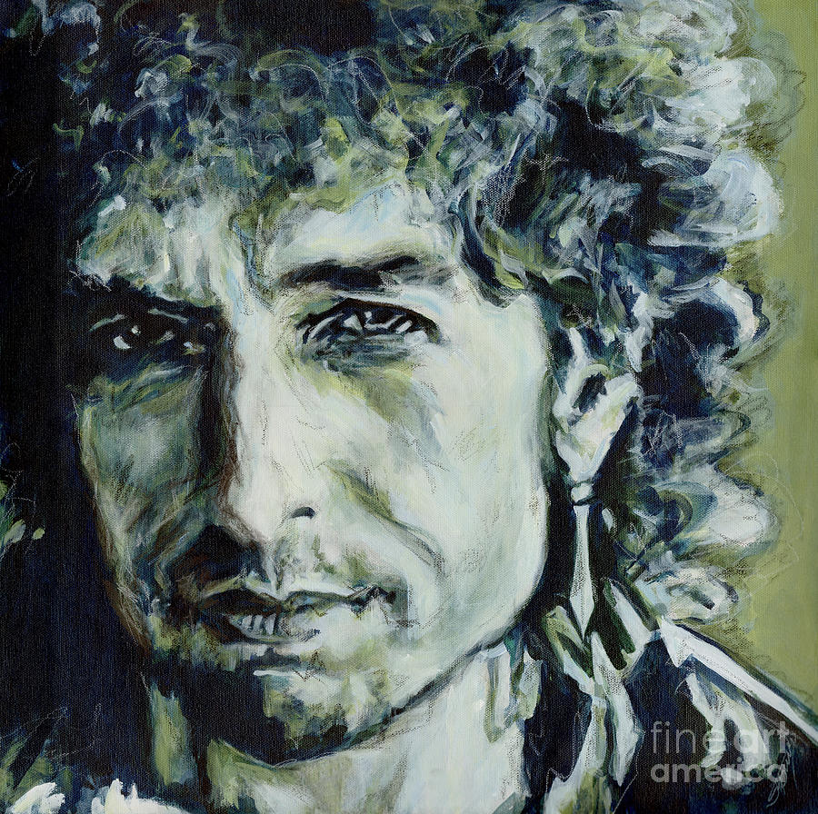 I Could Hold You For A Million Years. Bob Dylan by Tanya Filichkin
