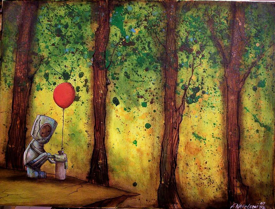 I Didnt Expect A Reply Painting by Fabio Napoleoni