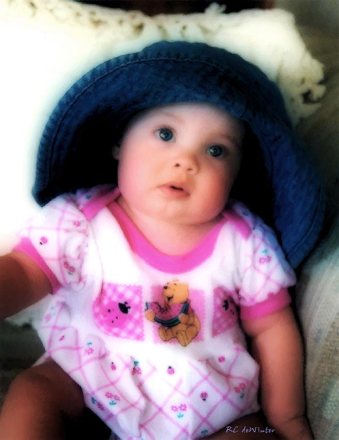 Baby Digital Art - I Dont Think So by RC DeWinter