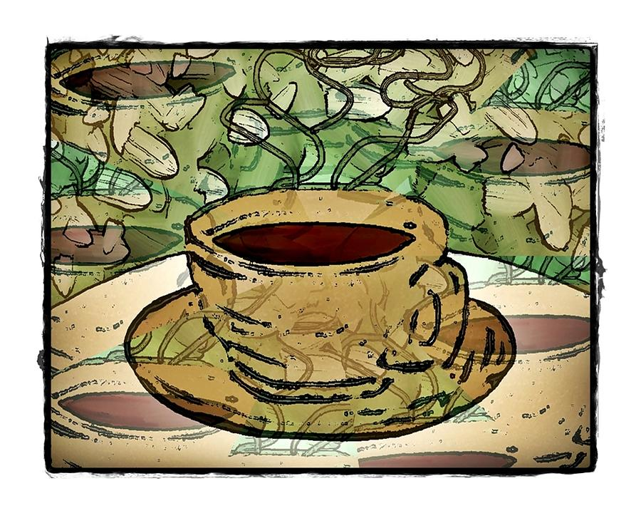I Dream of Coffee by Terry Mulligan