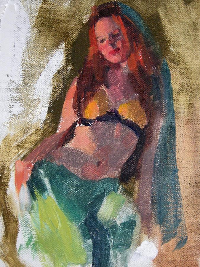 Figurative Painting - I Dream Of Genie by Merle Keller
