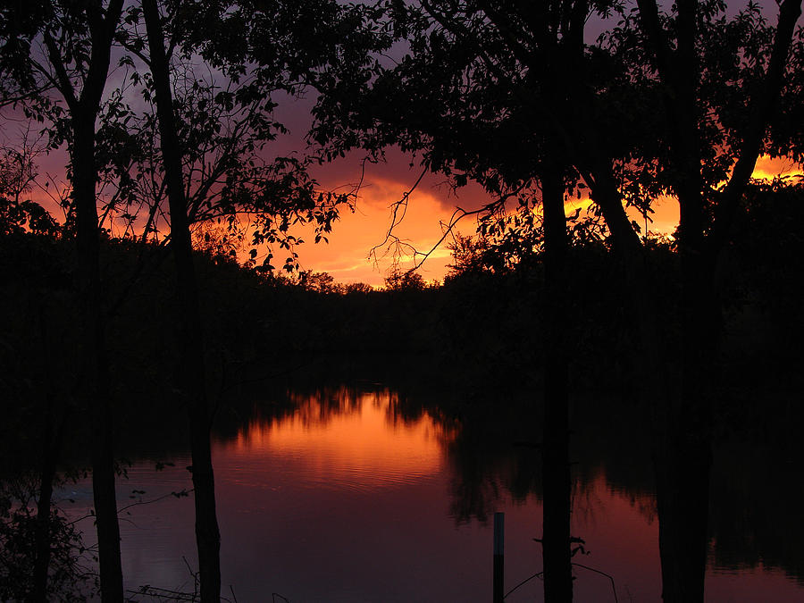 Sunset Photograph - I Found Red October by J R Seymour