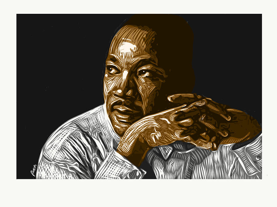 Dr. Martin Luther King Jr. Digital Art - I Have A Dream . . . by Antonio Romero