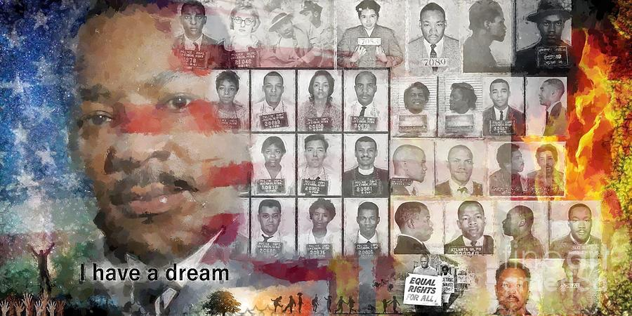 I Have A Dream .martin Luther King Jr. Painting