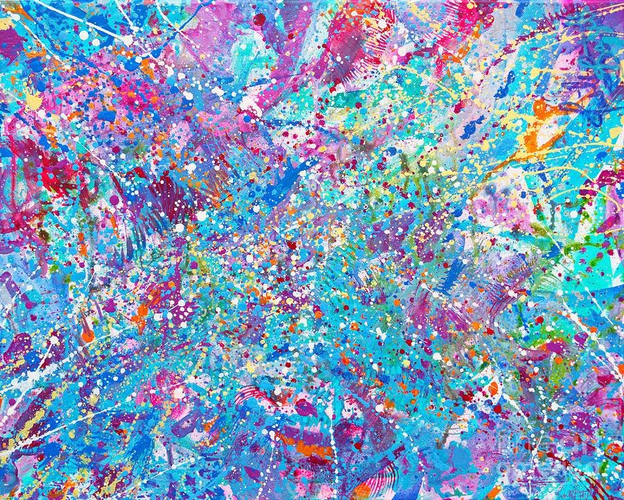 Bright Painting - I heard Jacksons whisper  by Priscilla Batzell Expressionist Art Studio Gallery