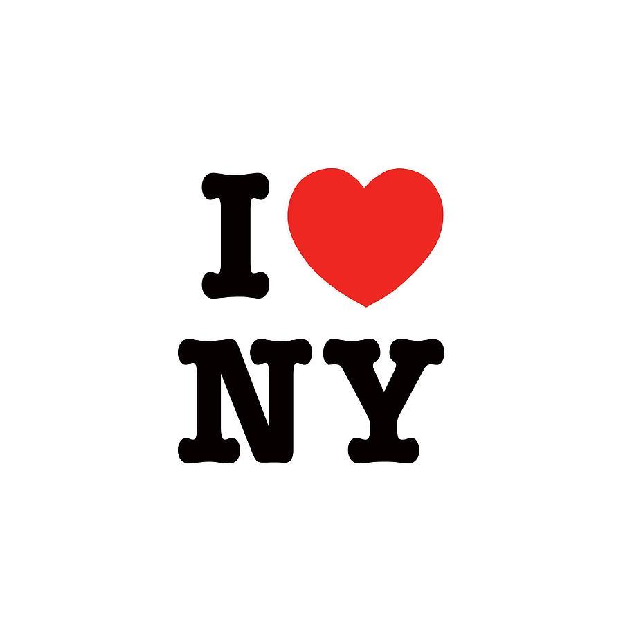 i heart New York Digital Art by New York Artist